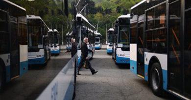 Алуштинцы будут ездить на новых троллейбусах