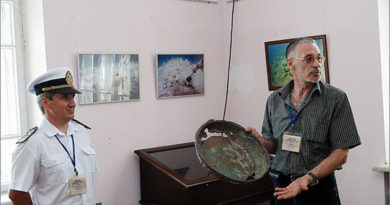Феодосийский Музей подводной археологии готовит две выставки к юбилею Айвазовского