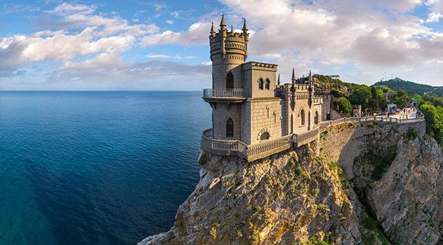 Ласточкино гнездо в Крыму начали реконструировать