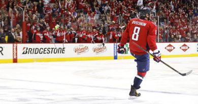 Овечкин провел 900-й матч в НХЛ