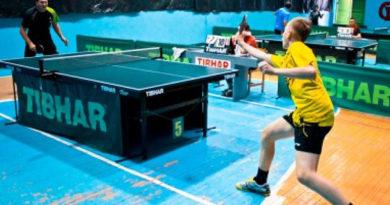 Призёры третьего тура командного чемпионата Крыма по настольному теннису среди детей определены в Симферополе