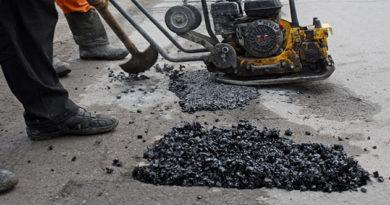 Симферополь исчерпал лимит собственных средств на проведение ямочного ремонта дорог, а объем разрушений достиг 90 тыс кв. м и растет