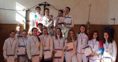Состоялся Открытый Чемпионат города Симферополя по фехтованию на шпагах