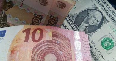 ЦБ установил курсы доллара и евро на 1 марта