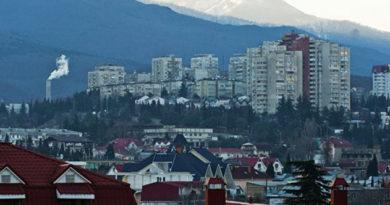 В четверг в Крыму до +2 и снег