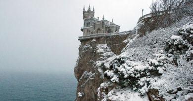 В Крыму до 5 градусов мороза, снег