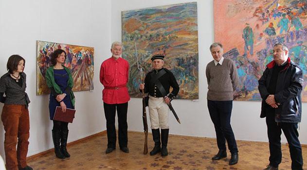 В Симферопольском художественном музее открыли выставку, посвященную событиям Крымской войны