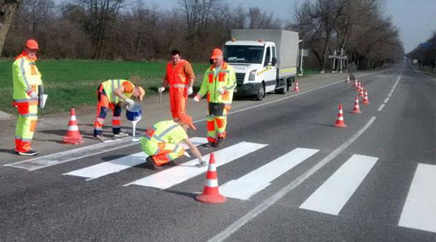 Власти Симферополя планируют на следующей неделе приступить к возобновлению дорожной разметки