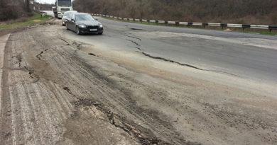 Аварийный участок трассы Симферополь-Севастополь закрыли до 2018 года