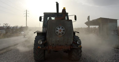 Овсянников поручил расширить дорогу вокруг Поворотного из-за оползня на трассе Севастополь-Симферополь