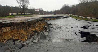 Правительство Севастополя признало оползневой участок трассы в Симферополь чрезвычайной ситуацией