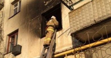 В Джанкойском районе на пожаре спасли женщину и эвакуировали семь человек