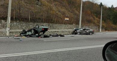 За год в Крыму возросло количество ДТП и пострадавших в них граждан