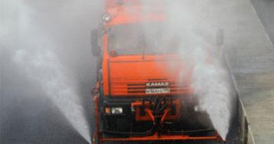 Более десятка поливочных машин в ближайшее время выйдут на симферопольские улицы