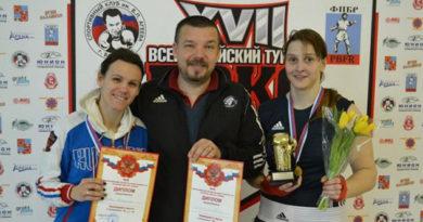Две севастопольские спортсменки выиграли Всероссийский турнир по боксу класса «А» в Московской области