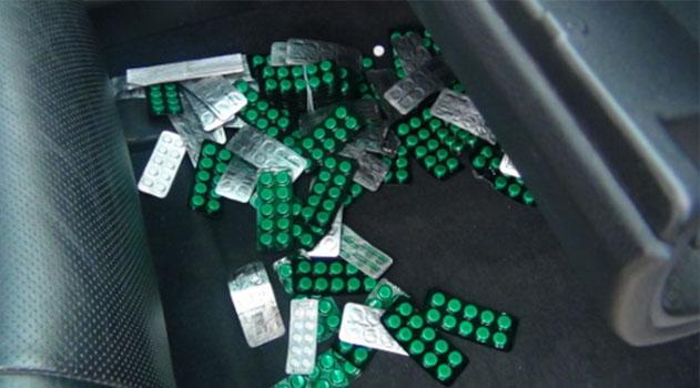 Крымские пограничники пресекли на Перекопе попытку контрабанды медикаментов