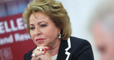 Матвиенко: не все отрасли экономики РФ используют деловой потенциал женщин в полной мере