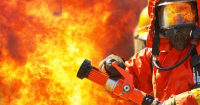 Сотрудники Пожарной охраны Республики Крым за неделю 16 раз выезжали тушить возгорание сухостоя