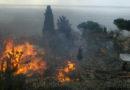 в Алупке горит многоквартирный дом, неравнодушные жители Ялты собирают помощь для оставшихся без крова людей