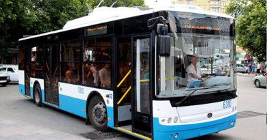 В Симферополе появились троллейбусы №13