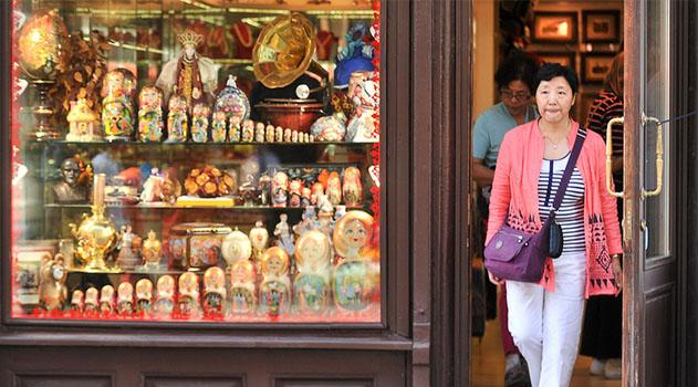 Въездной туризм в Россию вырос в 2016 году на 7%