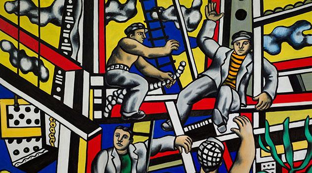 """Выставка """"Лицом к будущему. Искусство Европы 1945-1968"""" открывается в ГМИИ имени Пушкина"""