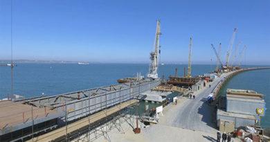 Экватор пройден: Соколов рассказал, как идет строительство моста в Крым