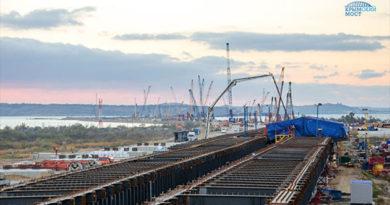 Минтранс заключил контракт на создание ж/д подходов к мосту в Крым