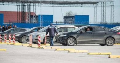 На Керченской переправе открылась новая накопительная площадка для 300 авто