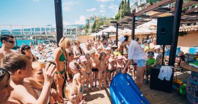 На Массандровском пляже будут учить детей