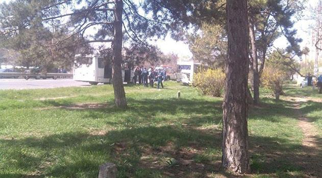 В Симферополе в результате столкновения двух автобусов пострадало 10 человек