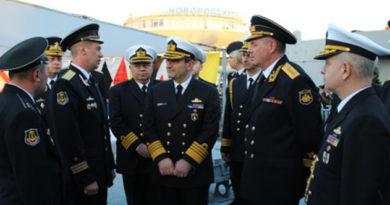 Командующий ВМС Турции посетил новейший фрегат Черноморского флота «Адмирал Григорович»