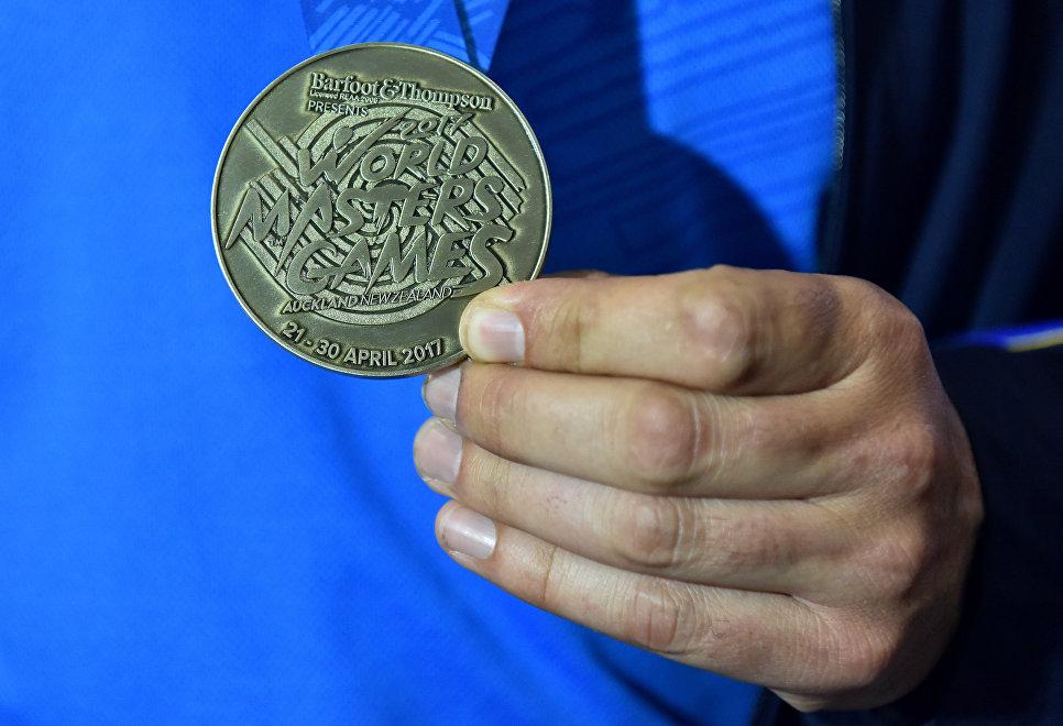 Крымские ветераны футбола выиграли Всемирные мастерские игры