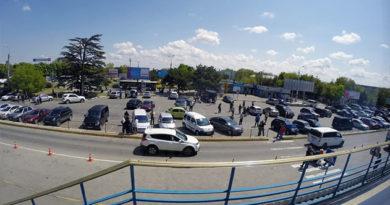 Аэропорт Симферополя дурил людей с парковкой