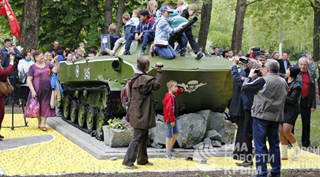 Более 100 тысяч человек приняли участие в праздновании Дня Победы в Крыму
