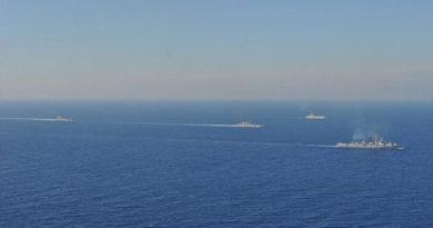 Корабли ЧФ РФ вышли в Средиземное море для тактических учений