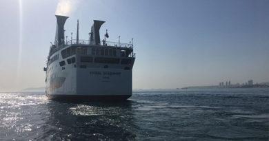 Круизный лайнер для Крыма прибыл в Сочи