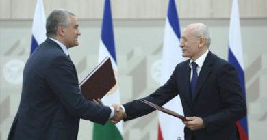 Крым найдет возможность ответить взаимностью на поддержку Башкортостана – Аксёнов