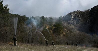 Лесные пожары в Крыму отследят с помощью спутников