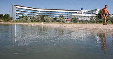 Набережную Сакского лечебного озера планируют построить к концу 2018 года