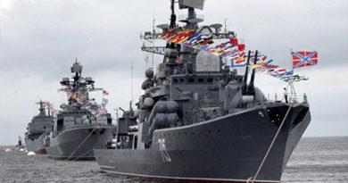 Севастополь празднует День Черноморского флота