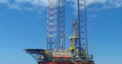 В Черном море на нефтяной вышке прошли учения Центра спецназначения ФСБ