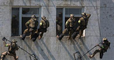 В Крыму завершились учения спецназа ФСБ