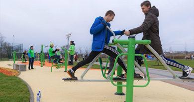 В этом году в Крыму установят 124 спортивные площадки и построят футбольное поле