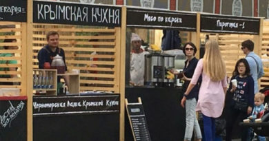 В саду Эрмитаж открыли ларек с крымской кухней