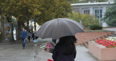 В среду в Крыму ожидают дожди