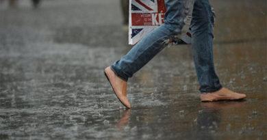 В субботу в Крыму сильные дожди, грозы, град и шквал