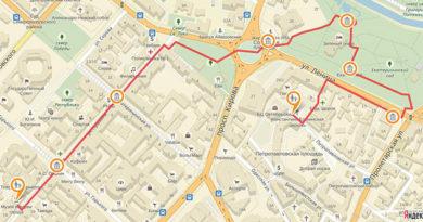 Власти Симферополя признали лучшим турмаршрутом города «Екатерининскую милю»