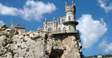 """Замок """"Ласточкино гнездо"""" закрыли на реконструкцию"""