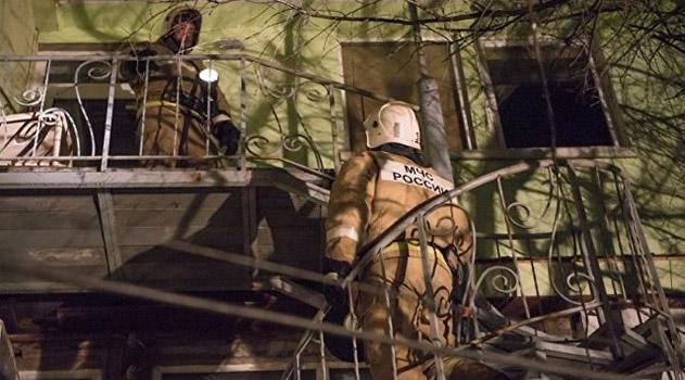 На пожаре в крымском селе спасены три человека, один из них – ребенок
